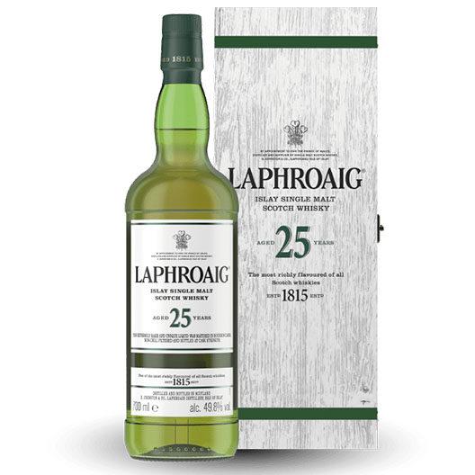 "Виски ""Laphroaig"" 25 Years Old Cask Strength 2020 Edition"