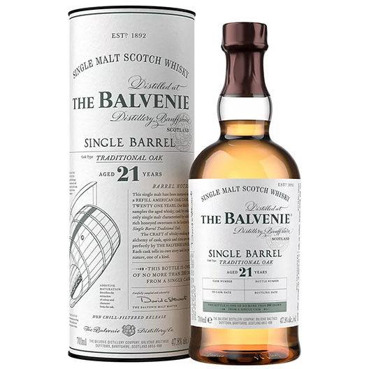 "Виски Balvenie ""Single Barrel"" Traditional Oak, 21 Years Old"